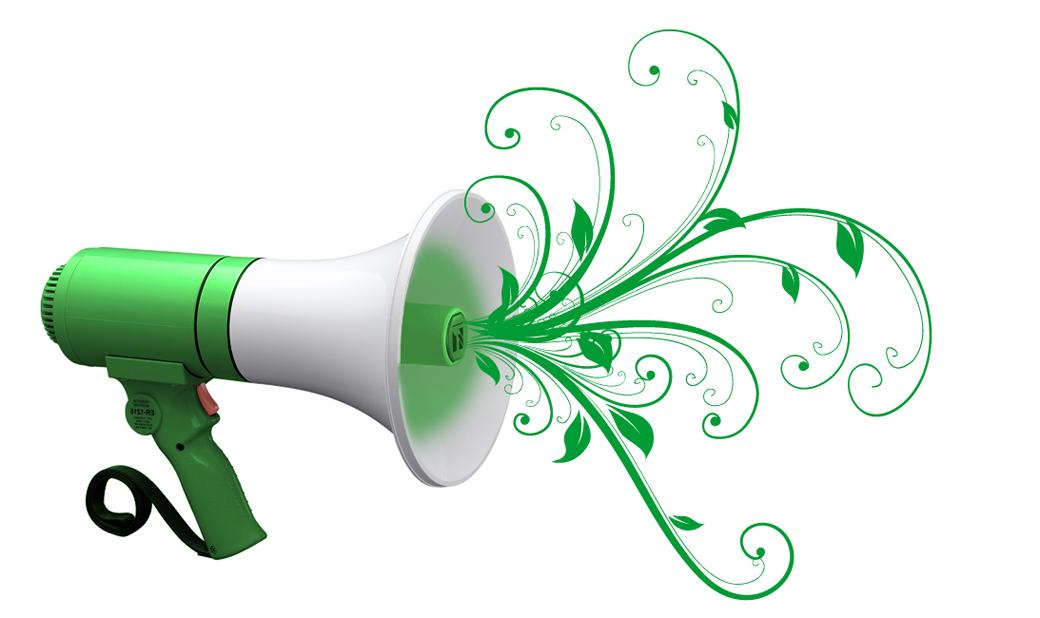 megafono green