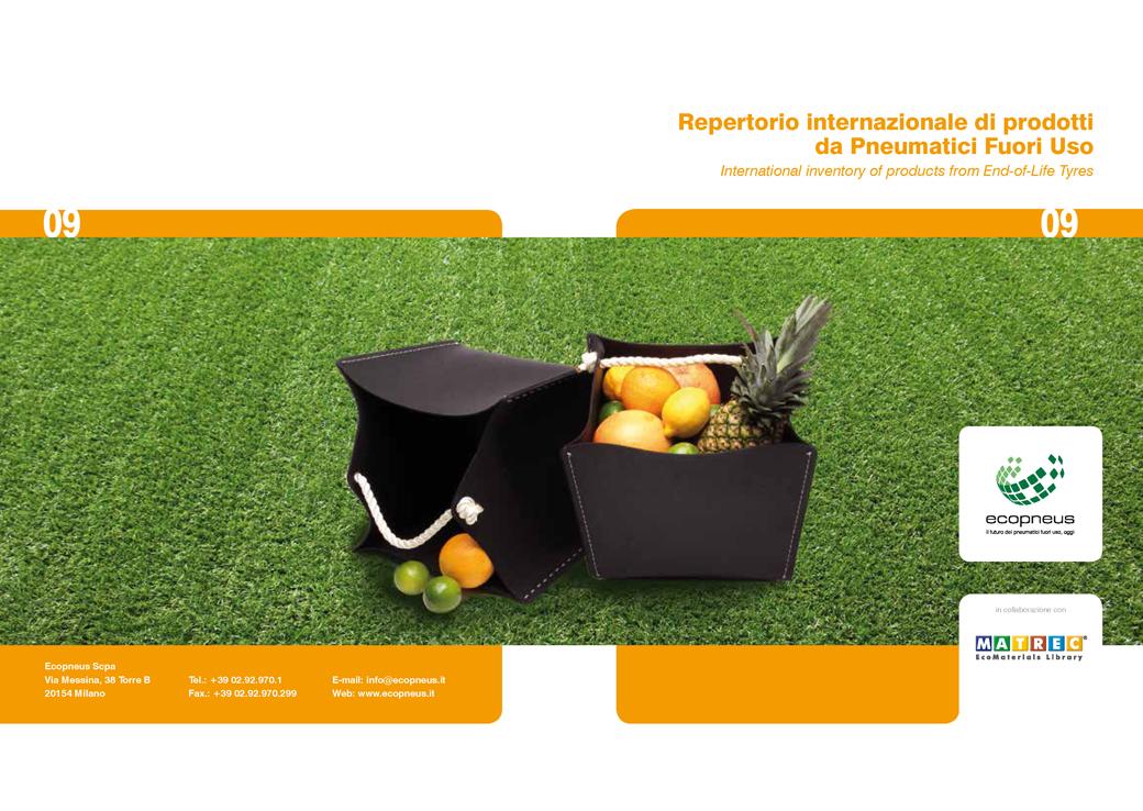 Repertorio internazionale di prodotti da pneumatici fuori uso.01.Marco Capellini