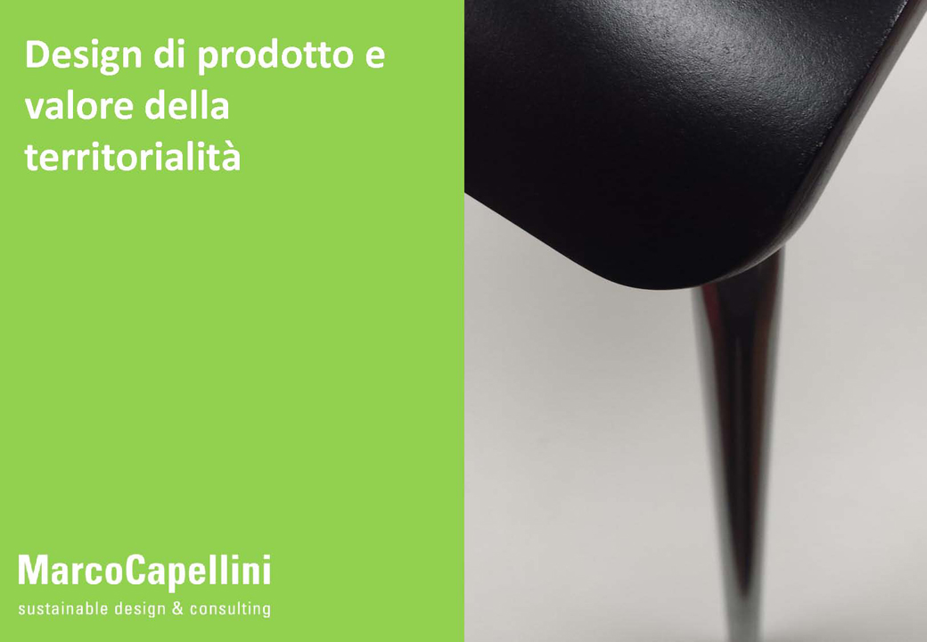 Capellini Design Consulting.Product Design And Value Of Territoriality Marco Capellini